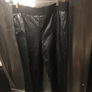 NYDJ Faux Leather Pants - 118 $20 FIRM